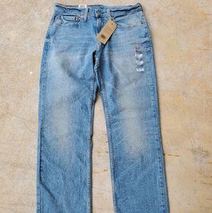 NWT Men's Levi 514 straight jeans